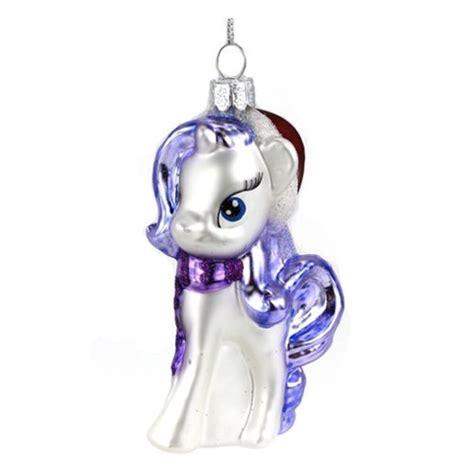 my little pony rarity glass christmas ornament kurt s
