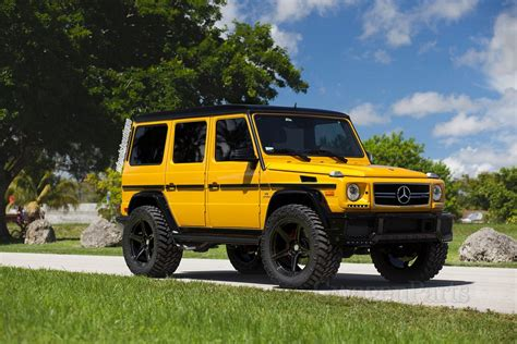 Wb 4inch Lift Kit For Mercedes Gclass W463 With Steering