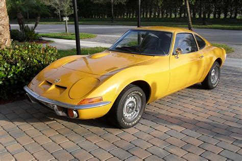 old opel opel gt classic car weekly