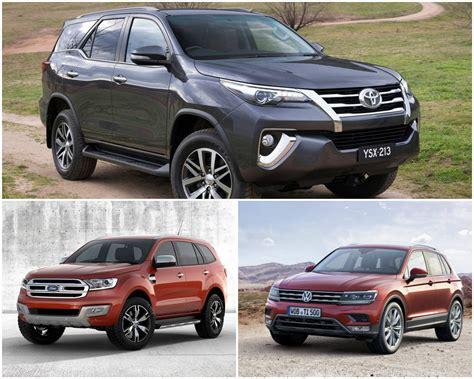 2016 Toyota Fortuner Vs Ford Endeavour Vs Volkswagen
