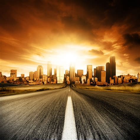 Highway Road With Cars Hd Wallpaper, Background Images