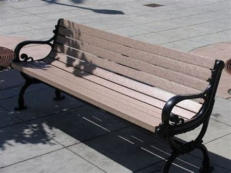 Replacement Outdoor Bench Slats With Recycled Plastic
