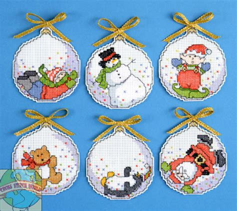 13 best photos of plastic canvas christmas ornament