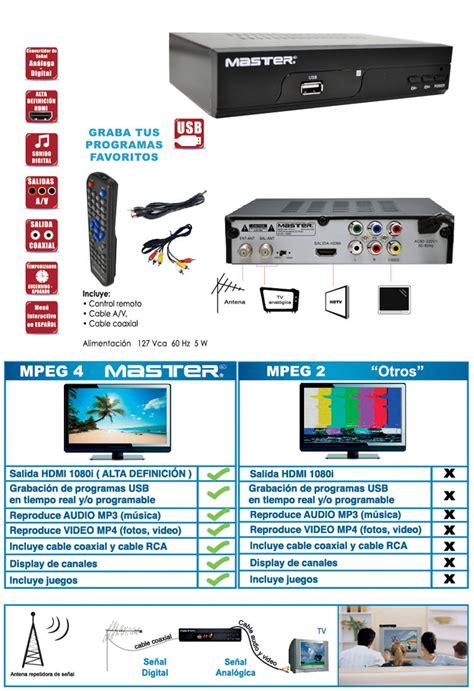 digital master sintonizador digital master electronicos