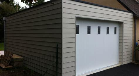 construction d un garage 224 ossature bois attenant 224 la maison sur fouesnant le loup habitat
