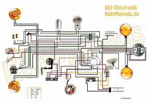 Schaltplan S51 B1 4 In Farbe