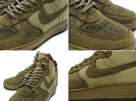 Nike Air Force 1 High Boot - Olive - SneakerNews.com