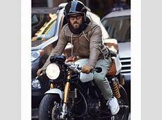Biker Ryan Reynolds Brown Leather Jacket ProStarJackets