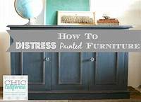 how to distress painted furniture How to Distress Painted Furniture