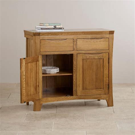 Rustic Oak Small Sideboard by Orrick Small Sideboard In Rustic Solid Oak Oak Furniture