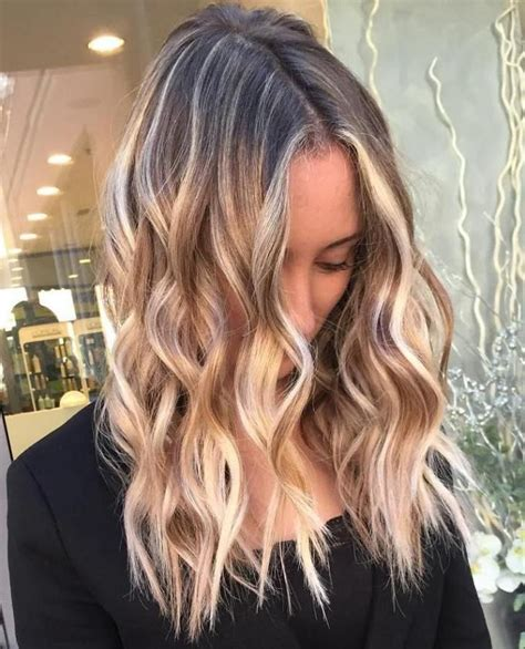 flattering balayage hair color ideas   hair