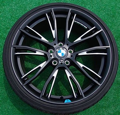 Bmw Tire by New Oem Bmw 435i Forged M Sport 624m Performance Pkg 20 In