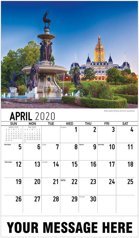 england states advertising calendar business promotion calendar