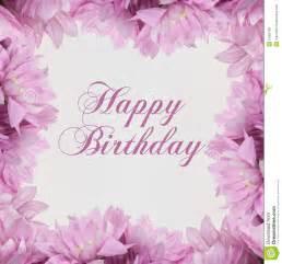 carte fã licitations mariage carte de joyeux anniversaire avec des fleurs illustration stock image 55006188