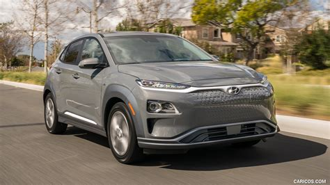 2019 Hyundai Kona Electric  Front Threequarter Hd