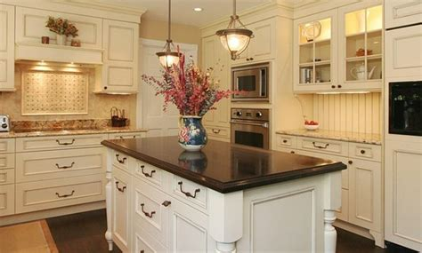 kitchen island with different countertop kitchen island countertops give your cooking area a 8243