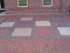 12x12 Concrete Patio Pavers by 30 Vintage Patio Designs With Bricks Wisma Home