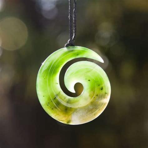 New Zealand Greenstone Koru Pendant - Kiwitreasure.com