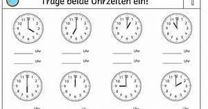 Zeitspannen Berechnen Grundschule : lernst bchen uhrenkartei ~ Themetempest.com Abrechnung