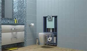 Wc Broyeur Sfa : wc avec broyeur int gr saniwall de sfa ~ Premium-room.com Idées de Décoration