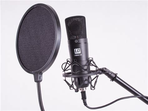 ld systems recording microphone set gak