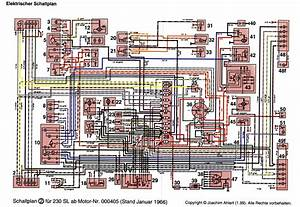 1970 Mercedes 280sl Wiring Diagram