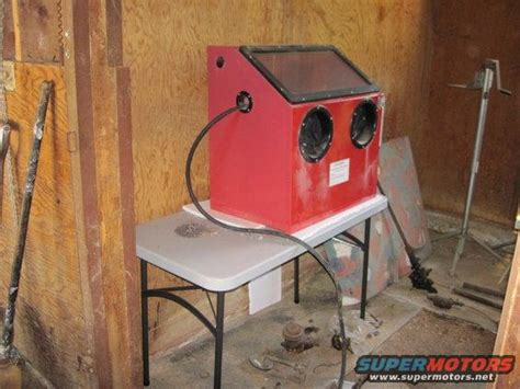Harbor Freight Sandblast Cabinet Upgrade by Sandblasting Cabinet Question Page 4 G503