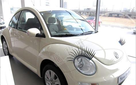 volkswagen eyelash custom vw beetle bug car interior design