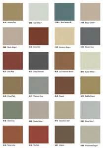 Scofield Concrete Color Chart