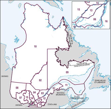 Carte Région Administrative Vierge by Cartes Des Circonscriptions 233 Lectorales Provinciales Par