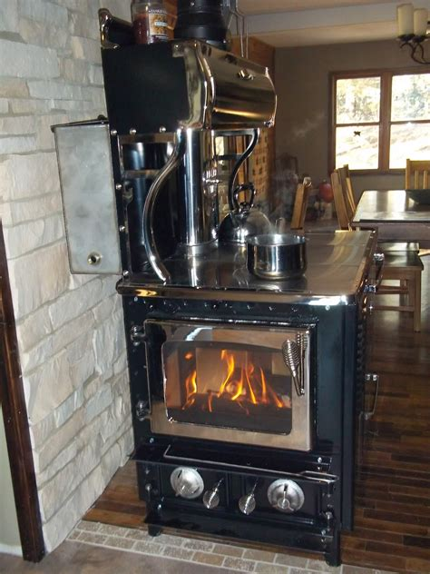 the burning kitchen homesteading wood cook stove
