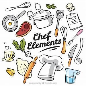 utensilios de cocina fotos y vectores gratis With kitchen colors with white cabinets with free happy birthday stickers