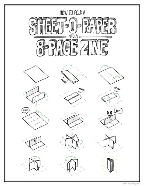 Zine Template Category 187 171 Umami Design Studio