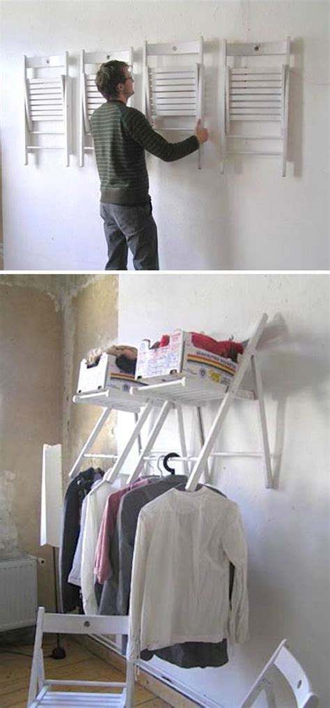 Ideas For Hanging Clothes Without A Closet by 25 Best Ideas About Hanging Clothes On