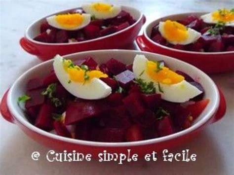 cuisine simple et facile recettes de betteraves de cuisine simple et facile