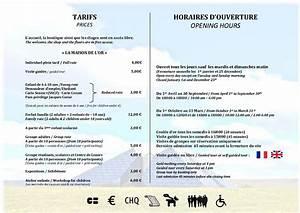 Tarif Horaire Garagiste : cit de l 39 or tarifs et horaires 2016 ~ Accommodationitalianriviera.info Avis de Voitures