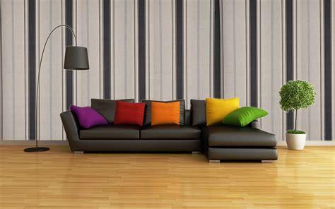 wallpaper  ruang tamu  sempit berbagai ruang