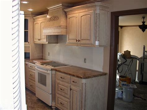 pickled oak kitchen cabinets antique refinishing pickled oak cabinets cabinets matttroy 4173