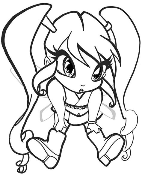 Winx Pixie coloring pages Paw drawing Coloring pages