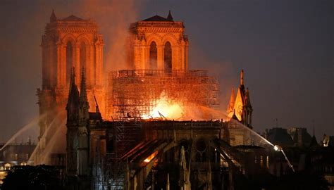 main sections  notre dame cathedral saved  fire