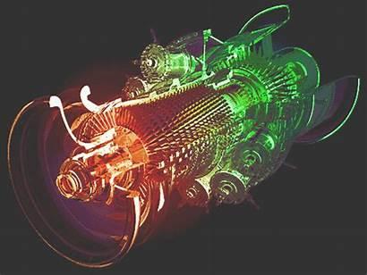 Ge Electric Turbine Gifs Animated Aircraft Turbines