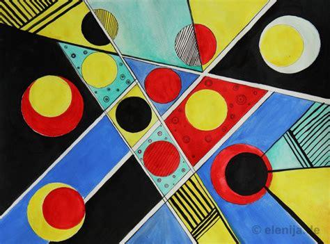 Bild Geometrische Formen by Farbige Geometrie 171 Elenija