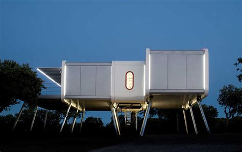 space age home  aircraft stairs architecture phaidon