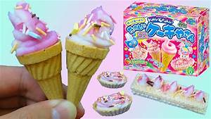 Kracie Popin' Cookin' Ice Cream Candy Making DIY Set! Safe ...