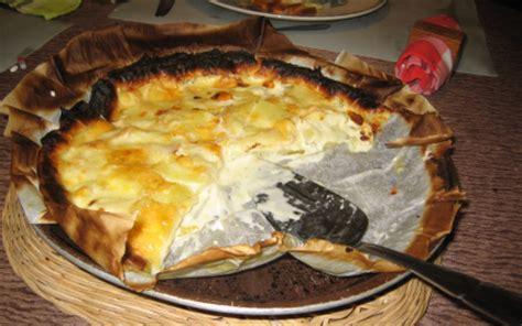 recette tarte au maroilles  aux pommes de terre facile