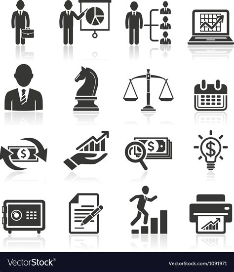 14701 business icon vector business icons royalty free vector image vectorstock