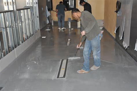 kitchen floor coating jersey shore deli s renovation includes kitchen 5612