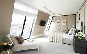 Zimmer Mit Dachschräge Gestalten : schlafzimmer mit schr ge modern gestalten ~ Lizthompson.info Haus und Dekorationen