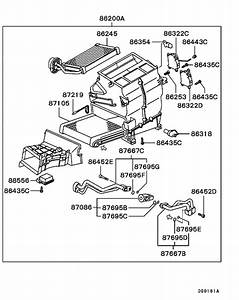 Heater Unit  U0026 Piping For 2001