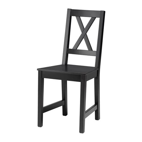 bassalt chair black brown ikea